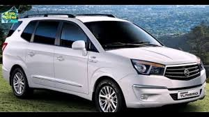 SsangYong Turismo 7 seat MPV from Senior Vehicle rental